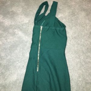 Forever 21 Dresses - Forest green body con dress
